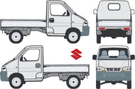Suzuki Carry 2004 Single Cab Chassis