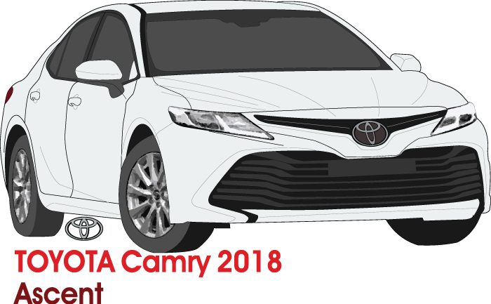 Toyota Camry 2018 Accent