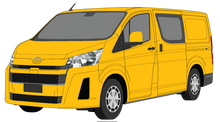 Load image into Gallery viewer, Toyota Hiace 2020 - LWB- Crew Van