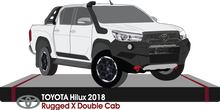 Load image into Gallery viewer, Toyota Hilux 2018 Double Cab - Pickup ute - Rugged-X