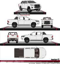 Load image into Gallery viewer, Toyota Hilux 2018 Double Cab Pickup ute - Rogue