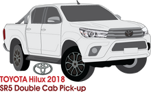Load image into Gallery viewer, Toyota Hilux Early 2018 Double Cab Pickup ute - SR5