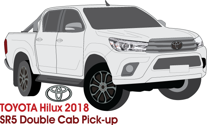Toyota Hilux Early 2018 Double Cab Pickup ute - SR5