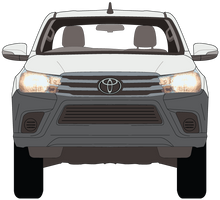 Load image into Gallery viewer, Toyota Hilux 2018 Double Cab - Cab Chassis - Workmate