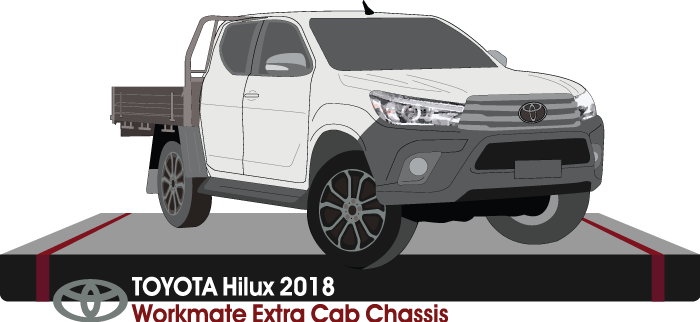 Toyota Hilux 2018 Extra Cab - Cab Chassis - Workmate