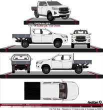 Load image into Gallery viewer, Toyota Hilux Late 2018  Double Cab - Cab Chassis - SR