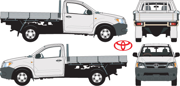 Toyota Hilux 2007 Single Cab -- Cab Chassis