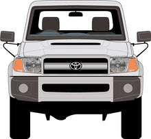 Load image into Gallery viewer, Toyota Landcruiser 2010 70 Series Cab Chassis