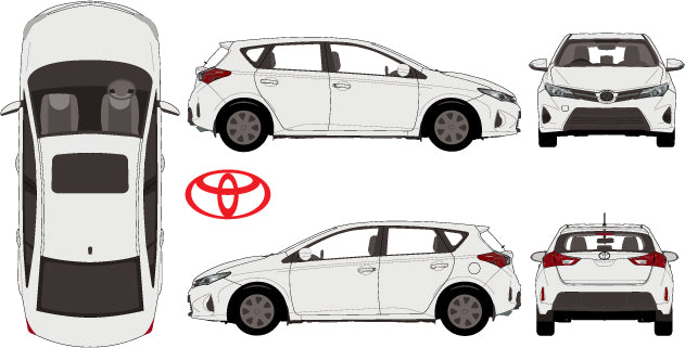 Toyota Corolla 2015 5 Door Hatch
