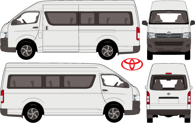 Toyota Commuter Bus 2013