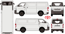 Load image into Gallery viewer, Toyota Hiace 2015 LWB van