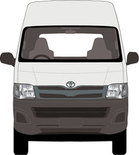 Load image into Gallery viewer, Toyota Hiace 2013 Super LWB van -- High Roof
