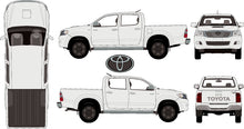 Load image into Gallery viewer, Toyota Hilux 2015 Double Cab -- SR5 Pickup Ute