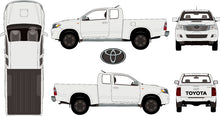 Load image into Gallery viewer, Toyta Hilux 2015 Extra Cab -- SR Pickup Ute