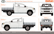 Load image into Gallery viewer, Toyota Hilux 2013 Extra Cab -- SR Cab Chassis