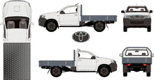 Load image into Gallery viewer, Toyota Hilux 2015 Single Cab -- WorkMate Cab Chassis