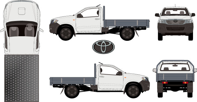Toyota Hilux 2015 Single Cab -- WorkMate Cab Chassis