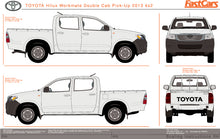 Load image into Gallery viewer, Toyota Hilux 2013 Double Cab -- WorkMate Pickup Ute