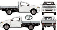 Load image into Gallery viewer, Toyota Hilux 2013 Single Cab -- WorkMate Cab Chassis 4X4