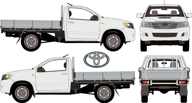 Toyota Hilux 2013 Single Cab -- WorkMate Cab Chassis 4X4