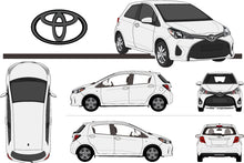 Load image into Gallery viewer, Toyota Yaris 2017 5 Door Hatch