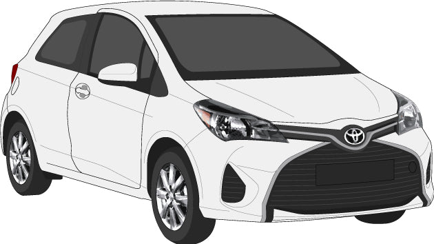Toyota Yaris 2017 5 Door Hatch