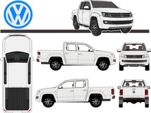 Load image into Gallery viewer, Volkswagen Amarok 2017 Double Cab -- Pickup ute