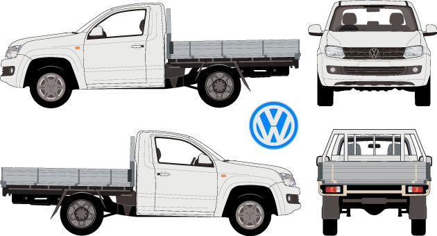 Volkswagen Amarok 2013 Single Cab -- Cab Chassis