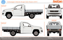Load image into Gallery viewer, Volkswagen Amarok 2013 Single Cab -- Cab Chassis