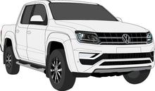 Load image into Gallery viewer, Volkswagen Amarok 2017 V6 Double cab -- Pickup ute