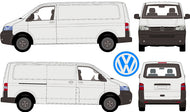 Volkswagen Transporter 2013 LWB Van -- Low Roof