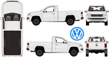 Load image into Gallery viewer, Volkswagen Amarok 2015 Single Cab -- Pickup Ute