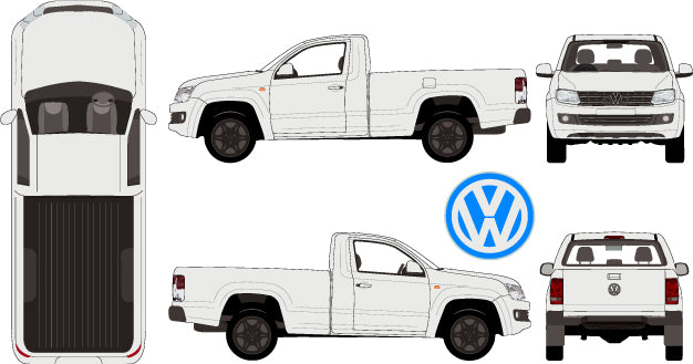 Volkswagen Amarok 2015 Single Cab -- Pickup Ute