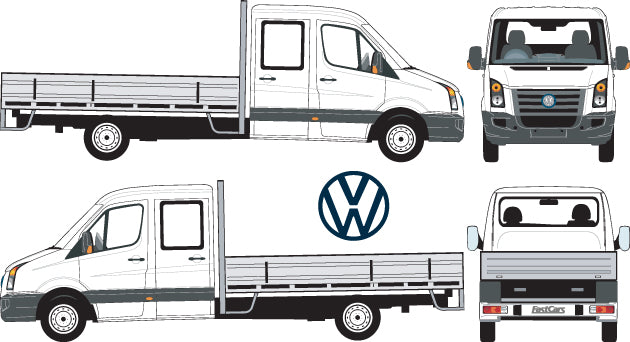 Volkswagen 2007 Crafter  Double Cab Chassis