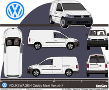 Load image into Gallery viewer, Volkswagen Caddy 2017  Maxi van