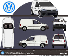 Load image into Gallery viewer, Volkswagen Caddy 2017  Standard van