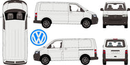 Volkswagen Transporter 2015 SWB Van -- Low Roof