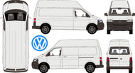 Volkswagen Transporter 2015 LWB Van -- High Roof