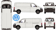 Volkswagen Transporter 2015 LWB Van -- Low Roof