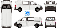 Volkswagen Transporter 2015 Crewvan SWB -- Low Roof
