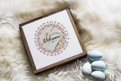 Welcome Sign Front Door/Occasion