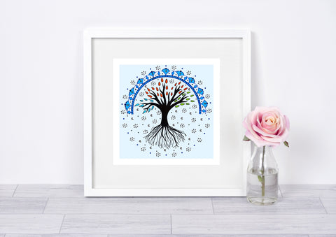 Tree of Life Art Print Mandala Art Print