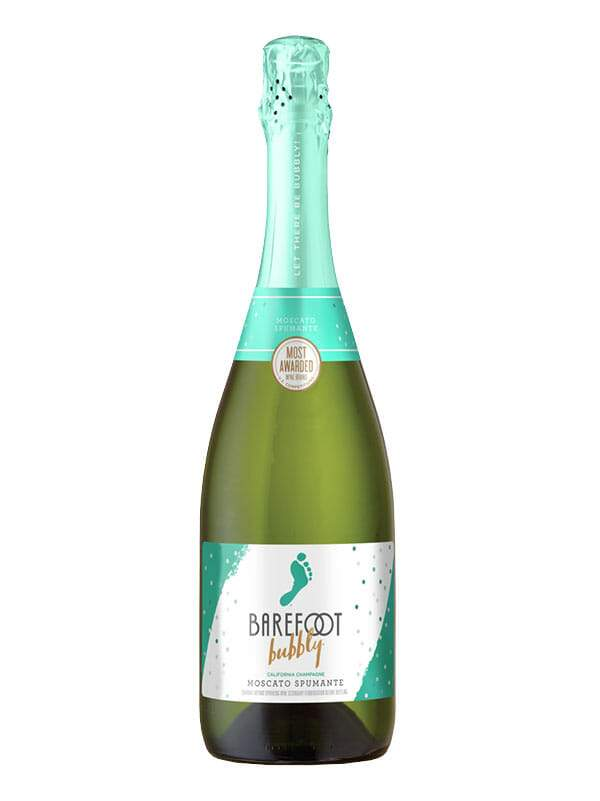 Barefoot Moscato Spumante Champagne 750ml