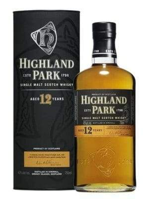 Highland Park 12 Years Scotch Whiskey 750ml