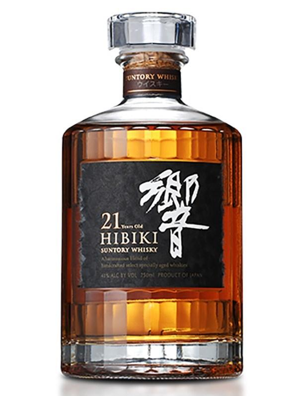 Hibiki 21 Year Old Japanese Whisky 750ml