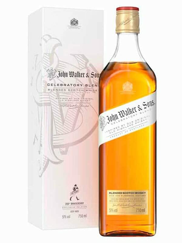 John Walker & Sons Celebratory Blend Blended Scotch Whisky 750ml