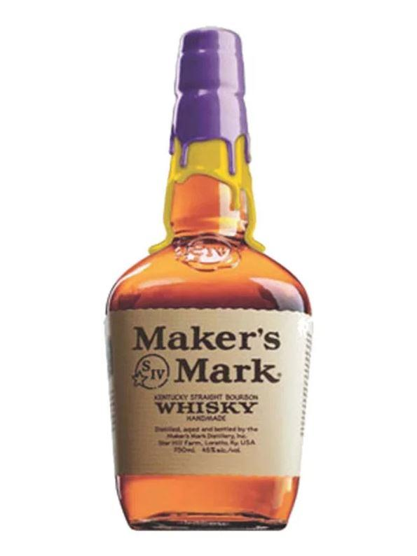 Maker's Mark Lakers Purple And Gold Whiskey 750ml