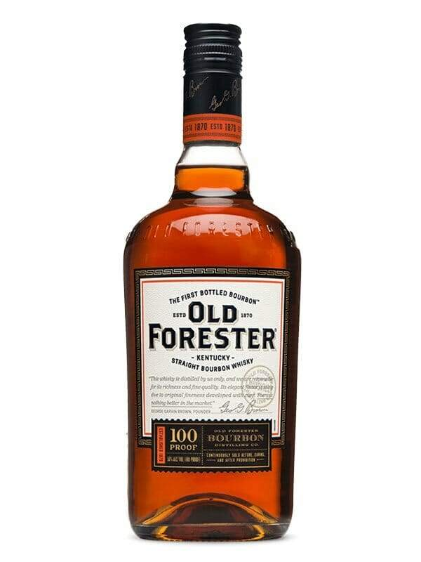 Old Forester Bourbon Whiskey 100 Proof 750ml