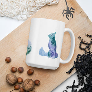 Watercolour Cats Mug