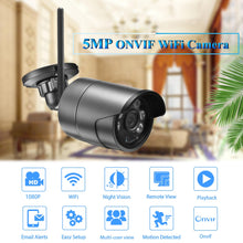 Load image into Gallery viewer, 5MP IP Camera 2MP 1080P High Definition Outdoor Audio CCTV Security Surveillance Wireless Onvif SD Card Wifi Camera